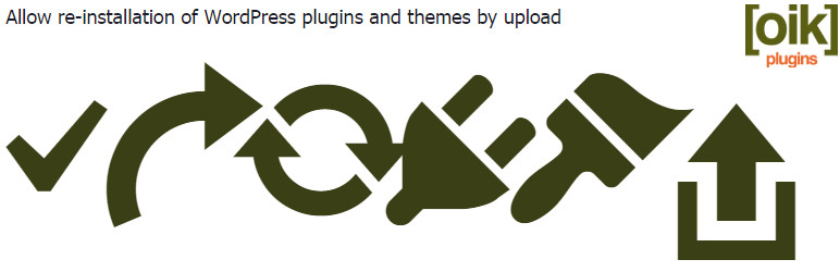 WordPress allow-reinstalls Plugin Banner Image