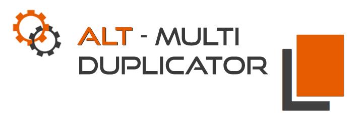 WordPress AlT Multiduplicator Plugin Banner Image