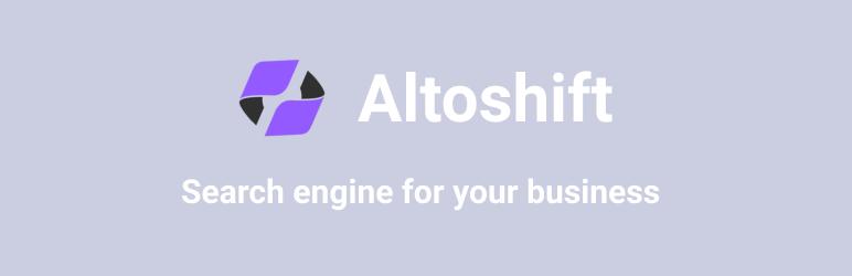WordPress Altoshift For Woocommerce Plugin Banner Image