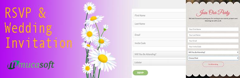 WordPress Amader RSVP For WordPress Plugin Banner Image