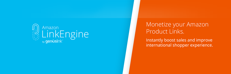 WordPress Amazon Link Engine Plugin Banner Image