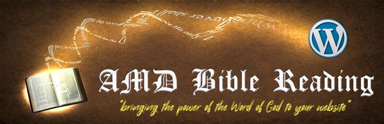 WordPress AMD Bible Reading Plugin Banner Image