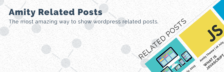 WordPress Amity Related Posts Plugin Banner Image