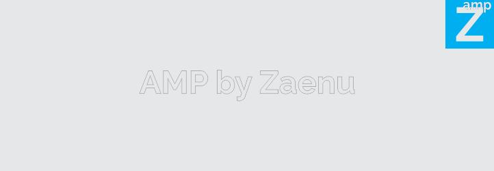 WordPress AMP by Zaenu Plugin Banner Image