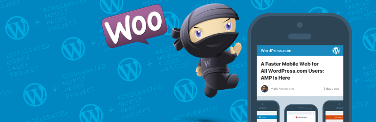 WordPress AMP WooCommerce Plugin Banner Image