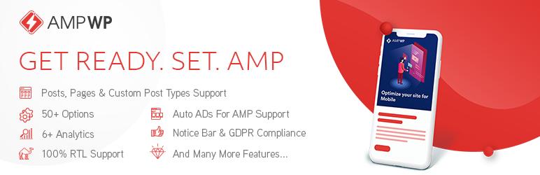 WordPress AMP WP – Google AMP For WordPress Plugin Banner Image