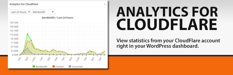 WordPress Analytics for Cloudflare Plugin Banner Image