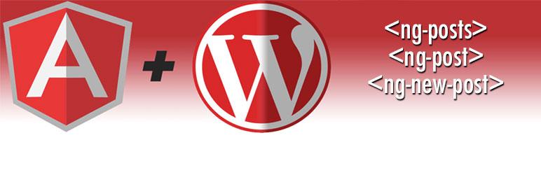 WordPress AngularJS for WordPress Plugin Banner Image