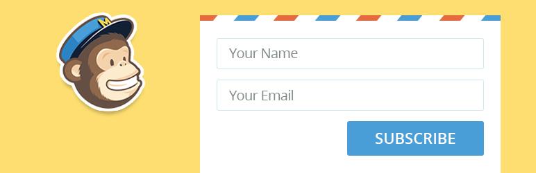 WordPress Another MailChimp Widget Plugin Banner Image