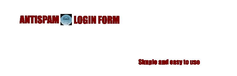 WordPress Antispam Login Form Plugin Banner Image