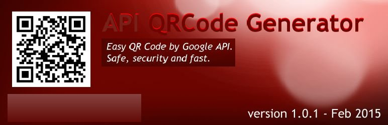 WordPress API QRCode Generator Plugin Banner Image