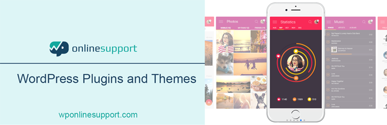WordPress App Mockups Carousel Plugin Banner Image