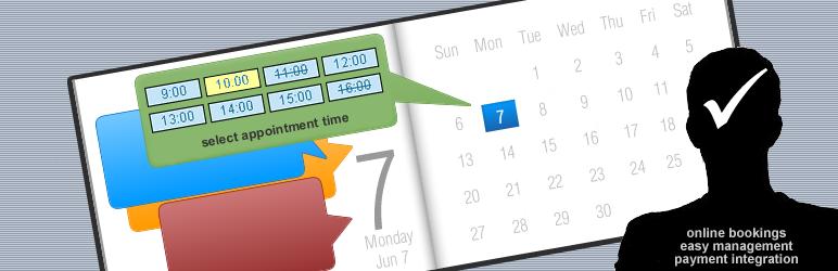 WordPress Appointment Booking Calendar Plugin Banner Image