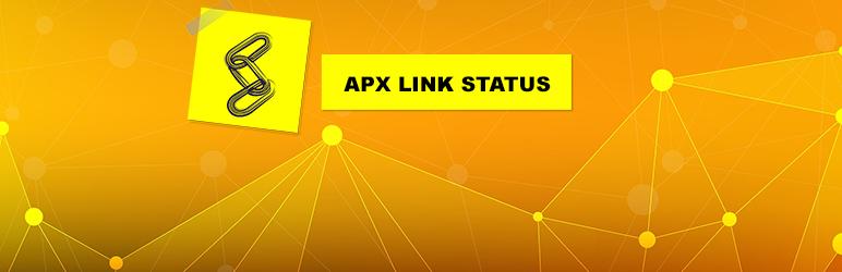 WordPress APX Link Status Plugin Banner Image