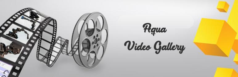 WordPress Aqua Video Gallery Plugin Banner Image