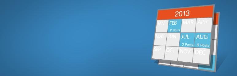 WordPress Archives Calendar Widget Plugin Banner Image