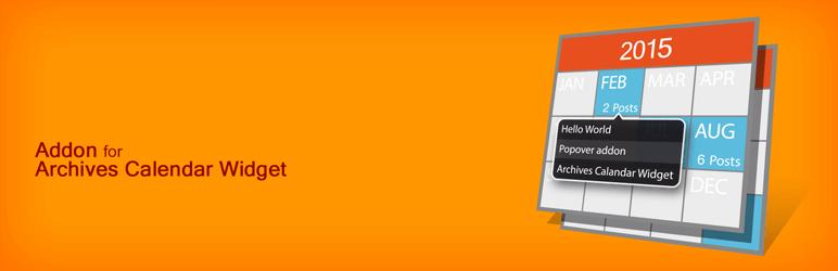 WordPress ARCW Popover Addon Plugin Banner Image