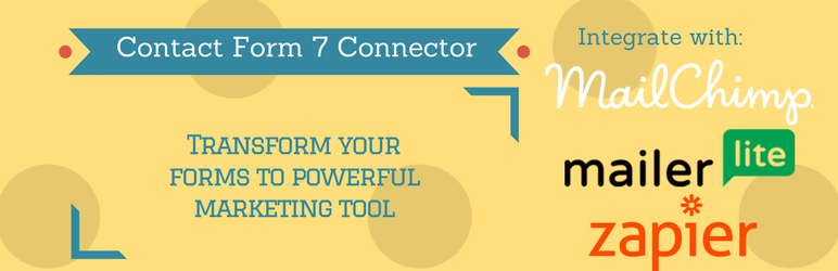 WordPress Contact Form 7 Connector Plugin Banner Image
