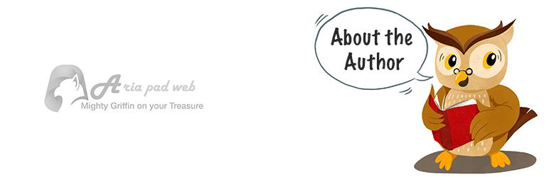 WordPress Aria WP Author Info Plugin Banner Image