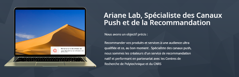 WordPress ArianeLab Plugin Banner Image