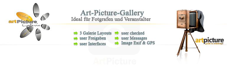 WordPress Art-Picture-Gallery Plugin Banner Image