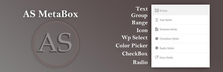 WordPress AS Metabox Plugin Banner Image