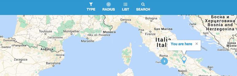 WordPress As Store Locator Plugin Banner Image