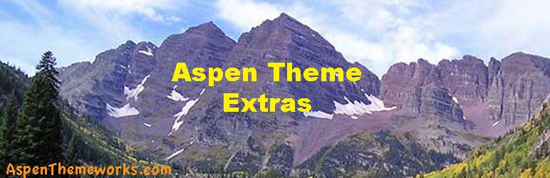 WordPress Aspen Extras Plugin Banner Image