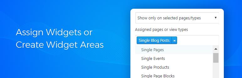 WordPress Assign Widgets Plugin Banner Image