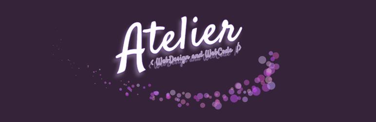 WordPress Atelier Scroll Top Plugin Banner Image