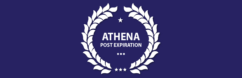 WordPress Athena Post Expiration Plugin Banner Image