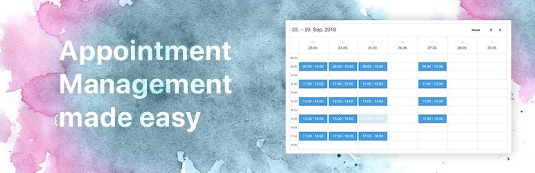 WordPress ATOM Appointment Management Plugin Banner Image