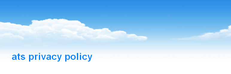 WordPress ats privacy policy Plugin Banner Image