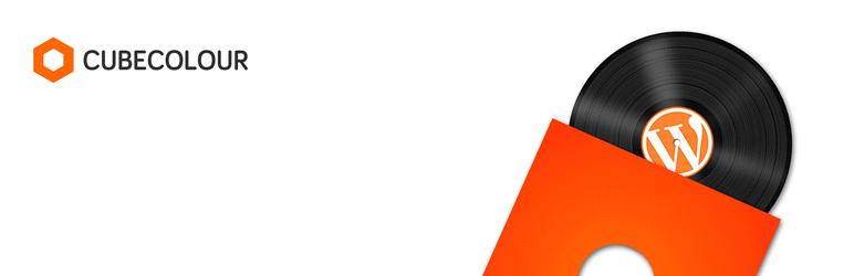WordPress Audio Album Plugin Banner Image