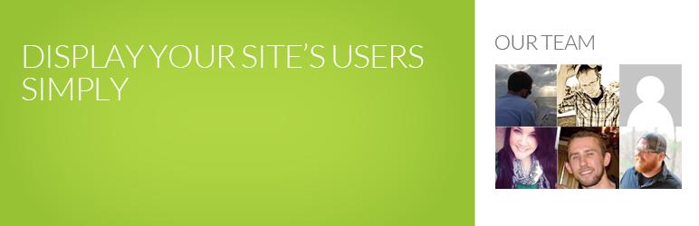 WordPress Author Avatar Grid Widget Plugin Banner Image