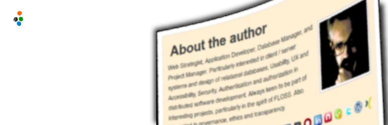 WordPress Author Box Reloaded  Pack Plugin Banner Image