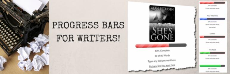 WordPress Author WIP Progress Bar Plugin Banner Image
