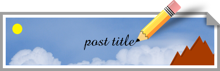WordPress Auto Featured Image from Title Plugin Banner Image