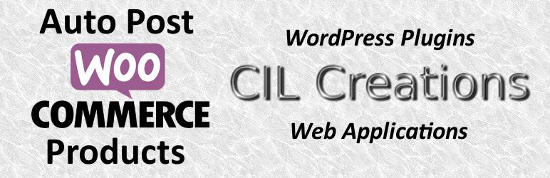 WordPress Auto Post WooCommerce Products Plugin Banner Image