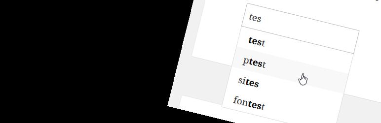 WordPress Autocomplete For Relevanssi Plugin Banner Image