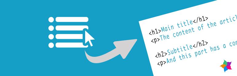 WordPress Automatic Hx Menu Plugin Banner Image