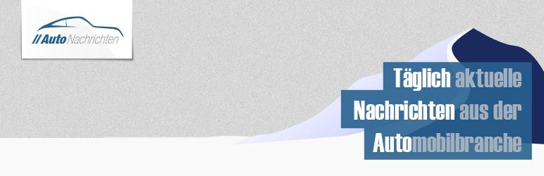 WordPress Autonachrichten Newsfeed Plugin Banner Image