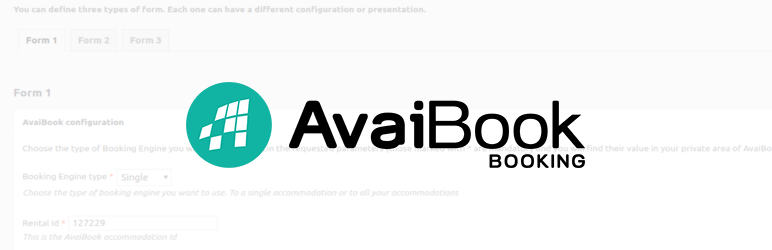 WordPress AvaiBook Plugin Banner Image