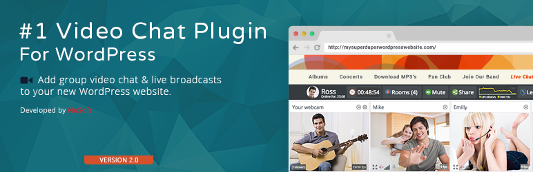 WordPress Community Lite Video Chat Plugin Banner Image