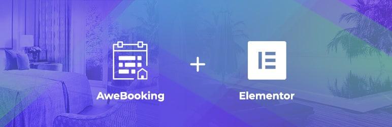 WordPress AweBooking & Elementor Integration Plugin Banner Image