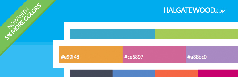 WordPress Awesome Color Palettes Plugin Banner Image