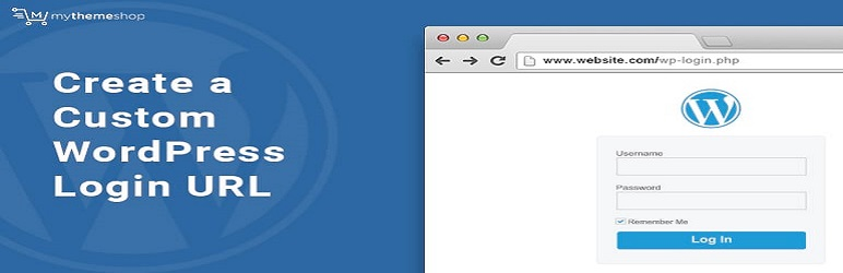 WordPress Awesome Custom Login URL Plugin Banner Image