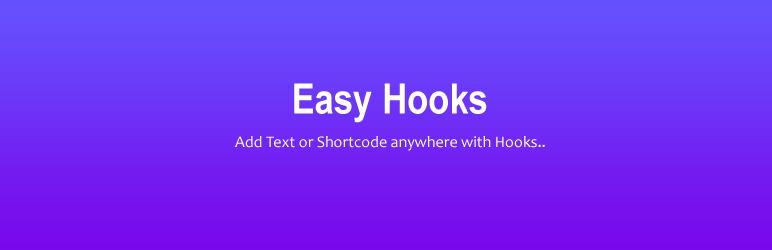 WordPress Awesome Hooks Plugin Banner Image