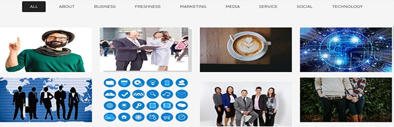 WordPress Awesome Portfolio Plugin Banner Image