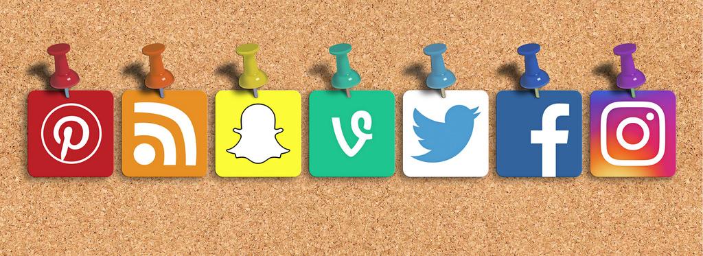 WordPress Awesome Social Media Icons Plugin Banner Image
